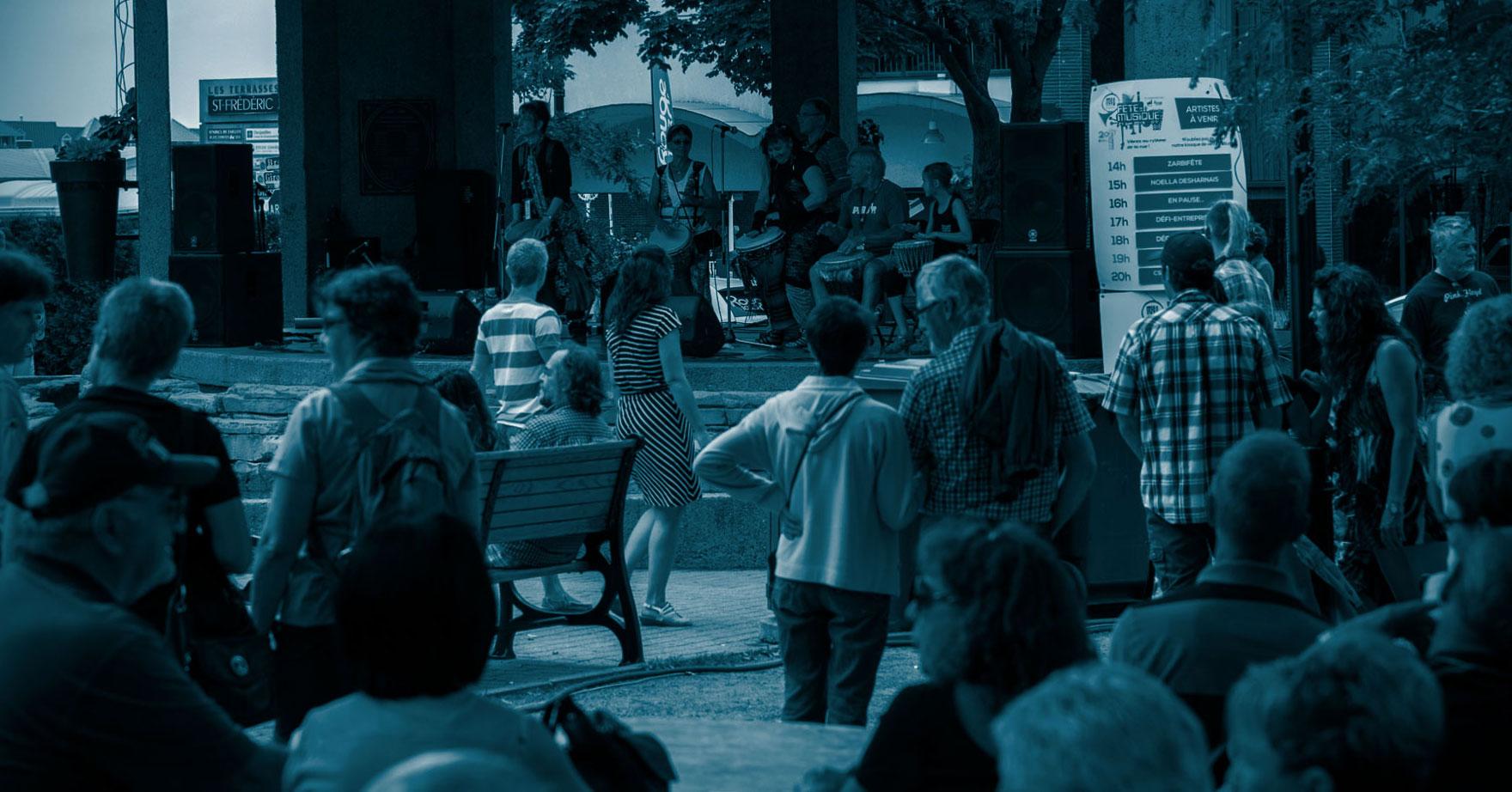 Les Grands Événments de Drummondville - La Fête de la musique