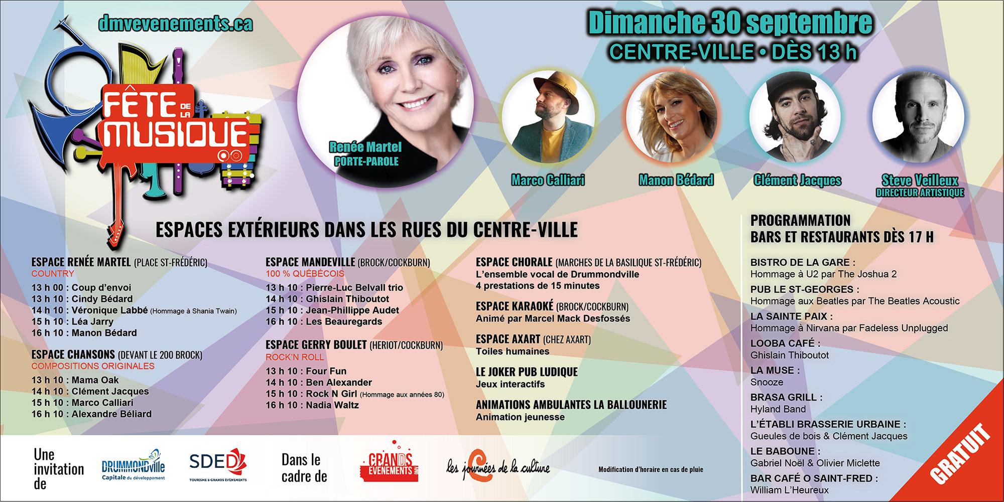 fete de la musique Drummondville