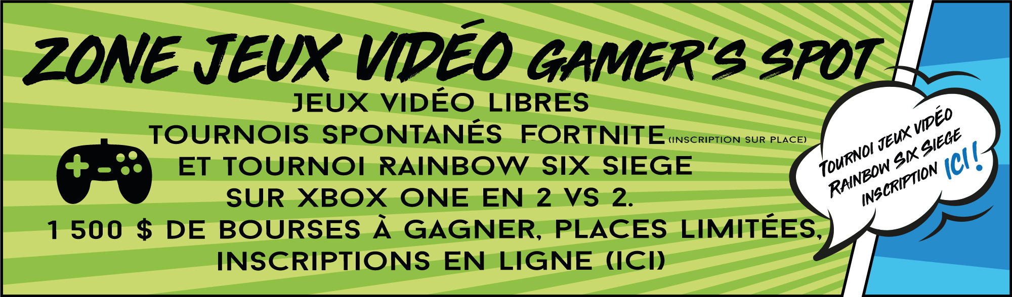 zone jeux video Gamer's Spot